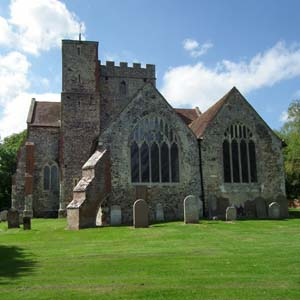 Boughton Aluph church 300